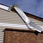 soffit damage from storm