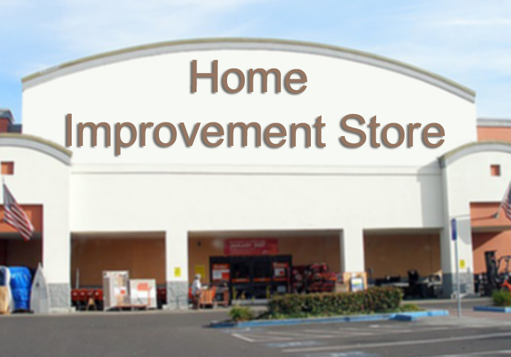 Home improvement store financing